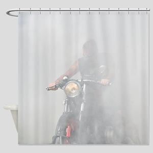 Smoke Rider Shower Curtain