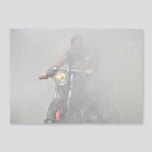 Smoke Rider 5'x7'Area Rug