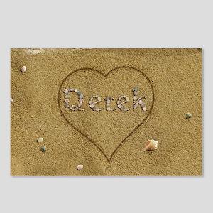 Derek Beach Love Postcards (Package of 8)