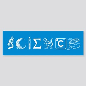 Science_BumperSticker Bumper Sticker