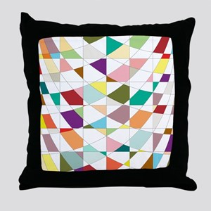 Abstract Colors Tapestry Throw Pillow