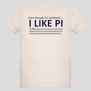 I Like Pi Organic T-Shirt