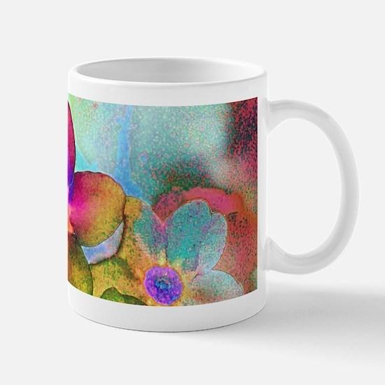 Flowers batik style Mugs