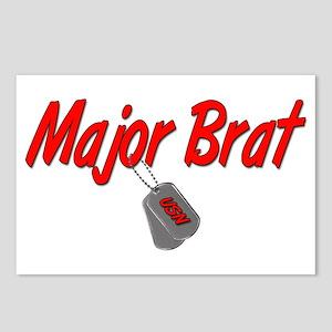 Navy Major Brat Postcards (Package of 8)