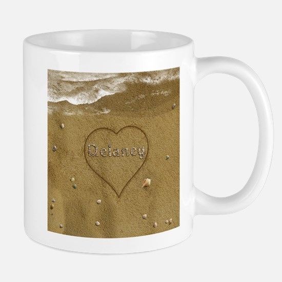 Delaney Beach Love Mug