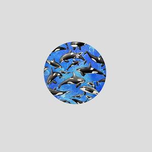 Orca Mini Button