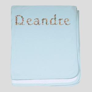 Deandre Seashells baby blanket
