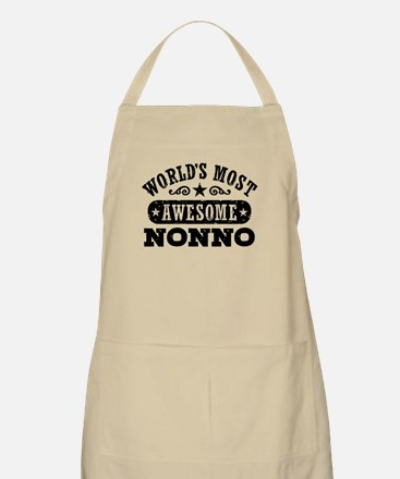 World's Most Awesome Nonno Apron