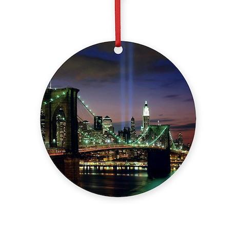 Tribute In Light Ornament (Round)