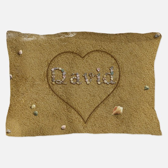 David Beach Love Pillow Case