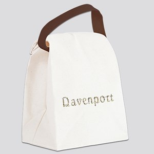 Davenport Seashells Canvas Lunch Bag