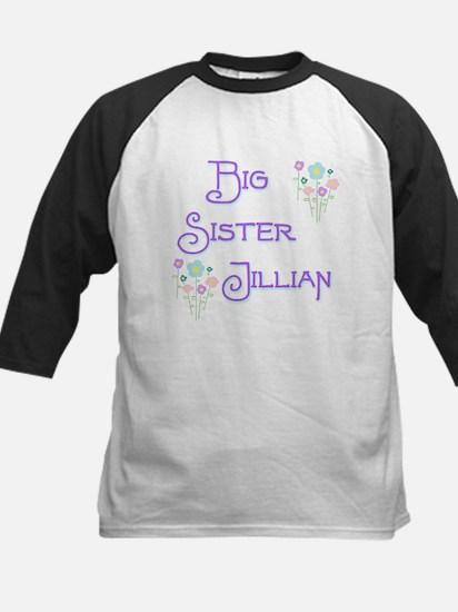 Big Sister Jillian Kids Baseball Jersey
