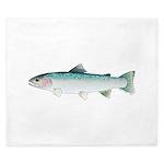 Steelhead rainbow trout King Duvet