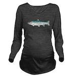 Steelhead rainbow trout Long Sleeve Maternity T-Sh
