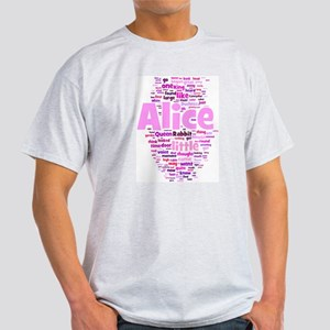 Alice in Wonderland Word Art T-Shirt