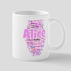 Alice in Wonderland Word Art Mugs