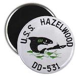 USS HAZELWOOD Magnet
