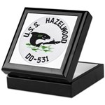 USS HAZELWOOD Keepsake Box