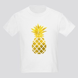 Faux Gold Foil Pineapple T-Shirt
