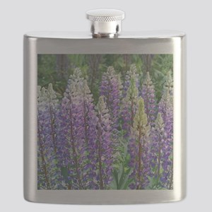 Maine Lupines Flask