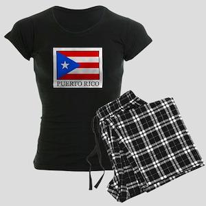 Puerto Rico Women's Dark Pajamas
