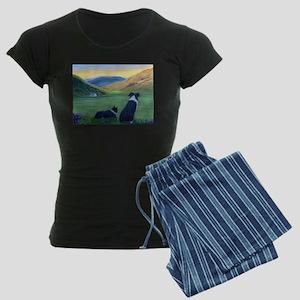 Highland Watch Women's Dark Pajamas