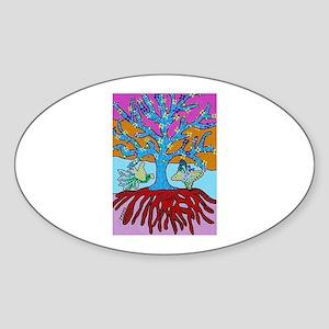 Jewish Tree Of Life - Sunset - Jennifer Fa Sticker