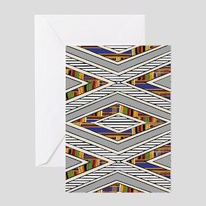 Tribal goodness Greeting Card