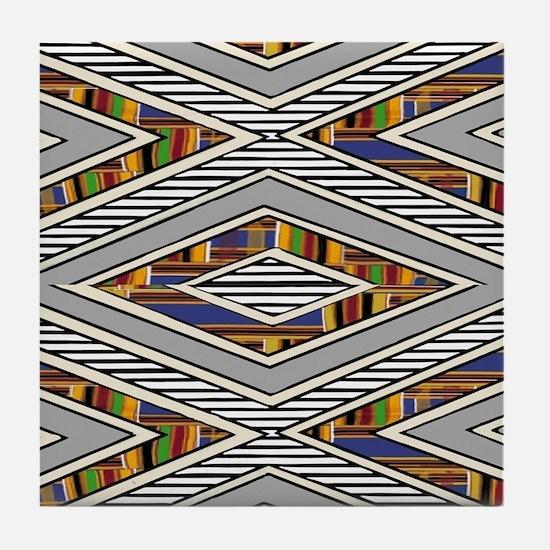Tribal goodness Tile Coaster