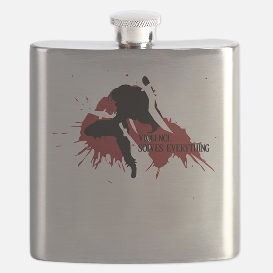 Katarina | Violence Solves Everything Flask