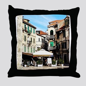 Drawn To The Shade Throw Pillow