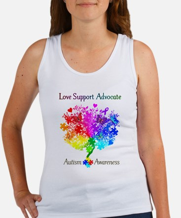 Autism Spectrum Tree Women's Tank Top