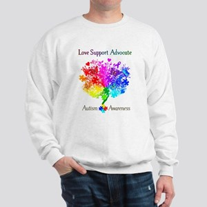Autism Spectrum Tree Sweatshirt