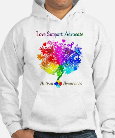 Autism Spectrum Tree Jumper Hoody