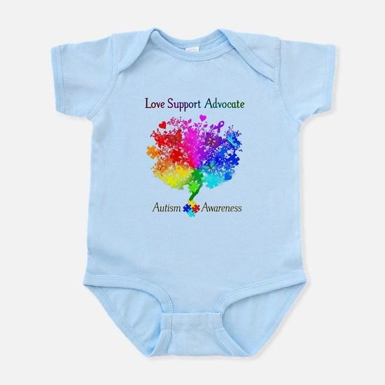 Autism Spectrum Tree Infant Bodysuit