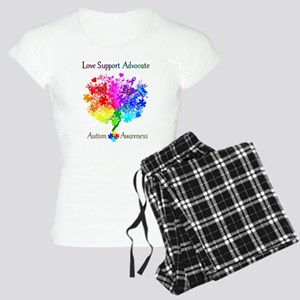 Autism Spectrum Tree Women's Light Pajamas