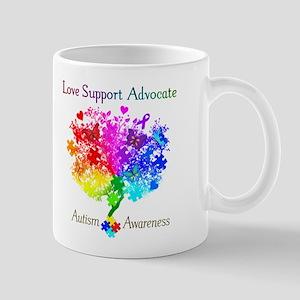 Autism Spectrum Tree Mug