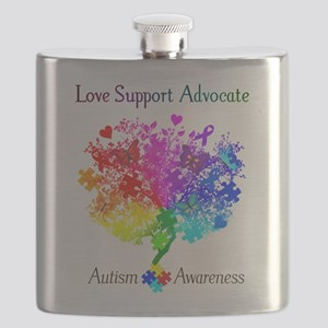 Autism Spectrum Tree Flask