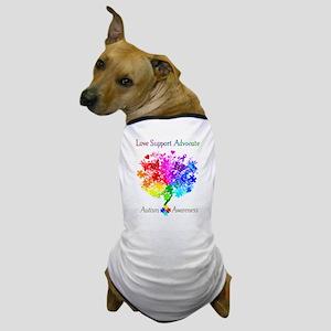 Autism Spectrum Tree Dog T-Shirt