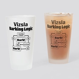Vizsla Logic Drinking Glass