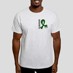 Liver Cancer Survivor 12 Light T-Shirt