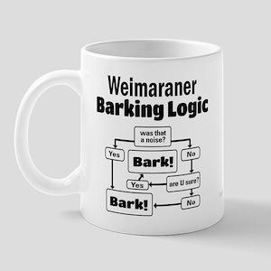 Weim Bark Logic Mug