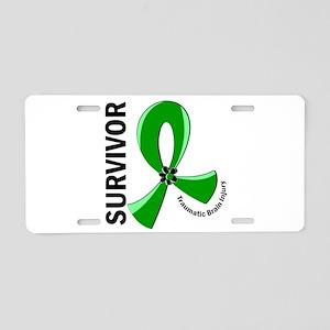 TBI Survivor 12 Aluminum License Plate