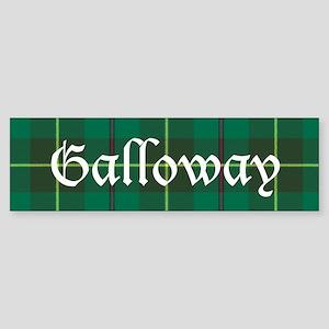 Tartan - Galloway dist. Sticker (Bumper)