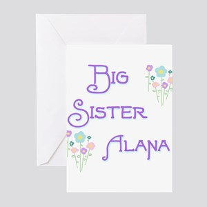 Big Sister Alana Greeting Cards (Pk of 10)