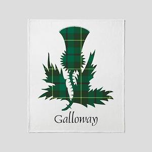 Thistle - Galloway dist. Throw Blanket