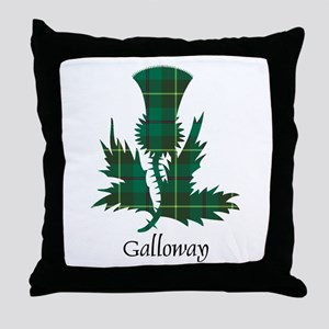 Thistle - Galloway dist. Throw Pillow