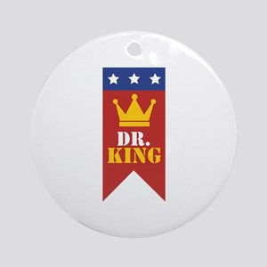 Dr. King Ornament (Round)