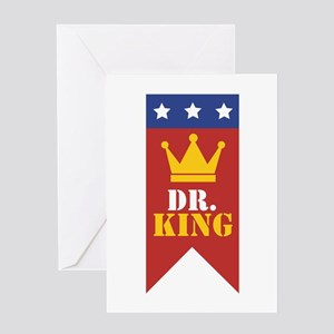 Dr. King Greeting Cards