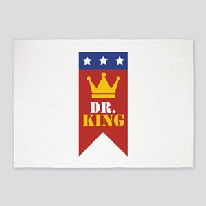 Dr. King 5'x7'Area Rug